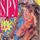 Nicole Eggert spy magazine