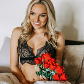 Nicole Spiller lingerie