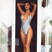 Nicole Thorne swimsuit