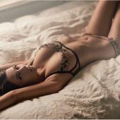 Nikita Klaestrup lingerie