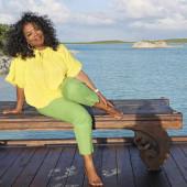 Oprah Winfrey feet
