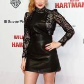 Palina Rojinski leder outfit
