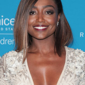 Patina Miller cleavage
