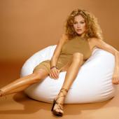 Nude women on furniture