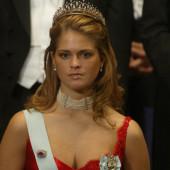 Princess Madeleine of Sweden dekollete