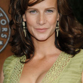 Rachel Griffiths braless