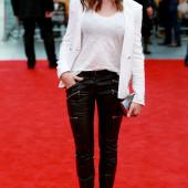 Rebecca Ferguson leather