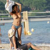Rebecca Loos topless