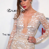 Rhona Mitra see through