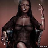 Rihanna see through