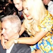 Rita Ora pantyless