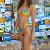 Robin Holzken bikini