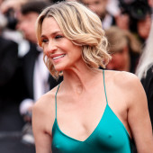 Robin Wright nipples