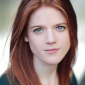 Rose Leslie close up