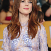 Rose Leslie see through