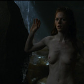 Rose Leslie topless