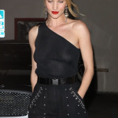 Rosie Huntington-Whiteley braless
