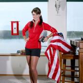 Sarah Palin legs