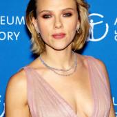 Scarlett Johansson braless