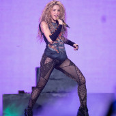Shakira see through