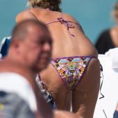 Sharon Stone bikini