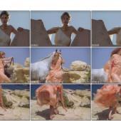 Sienna Guillory upskirt scene
