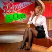Sonya Kraus strumpfhose