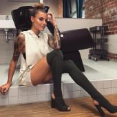 Sophia Thomalla upskirt