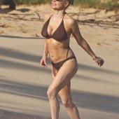 Stacy Ferguson beach