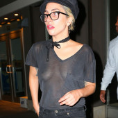 Lady Gaga see through