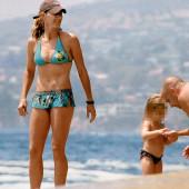 Steffi Graf beach
