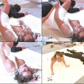 Stephanie McMahon tit slip