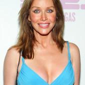 Tanya Roberts cleavage