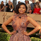 Taraji Henson see through