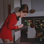 Terry Farrell star trek