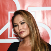 Tia Carrere close up