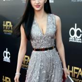 Tian Jing cleavage