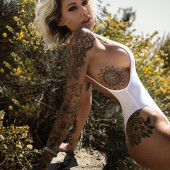 Tina Louise tattoos