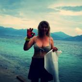 Tina Ruland bikini