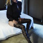 Toni Garrn stockings
