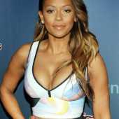 Melanie Brown cleavage