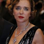 Valeria Golino cleavage