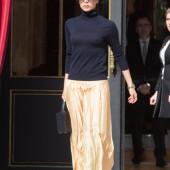 Victoria Beckham braless