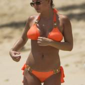 Zara Holland bikini