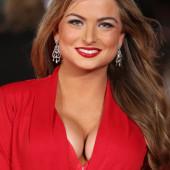 Zara Holland cleavage