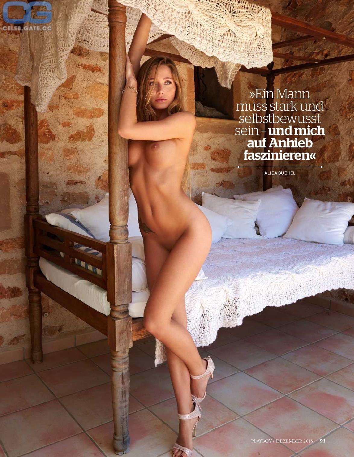 Alice Buechel  nackt