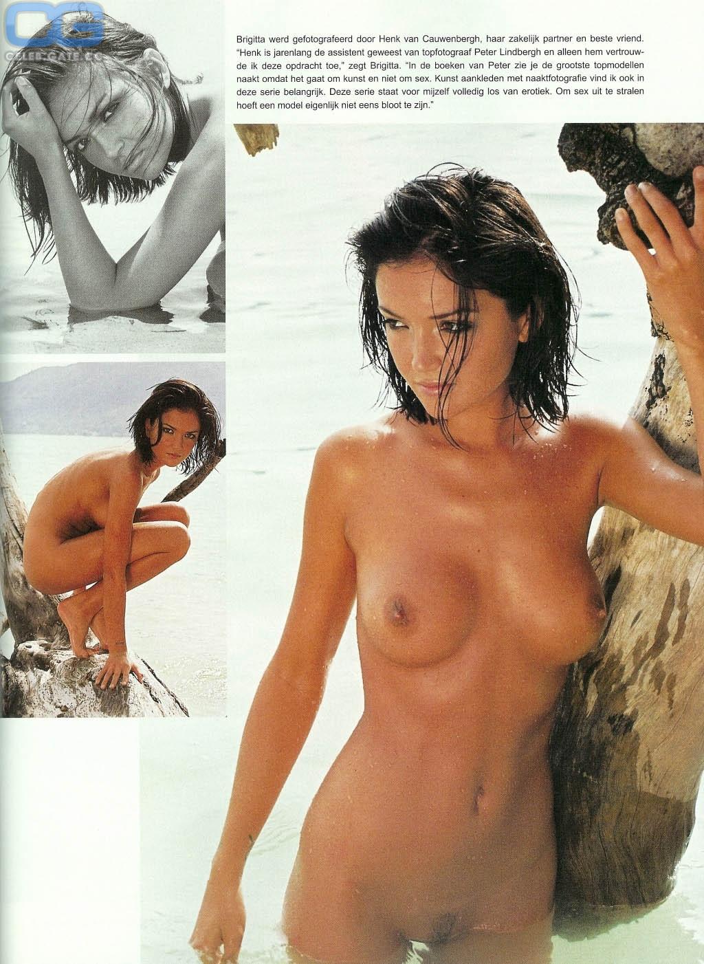 Brigitta Callens  nackt
