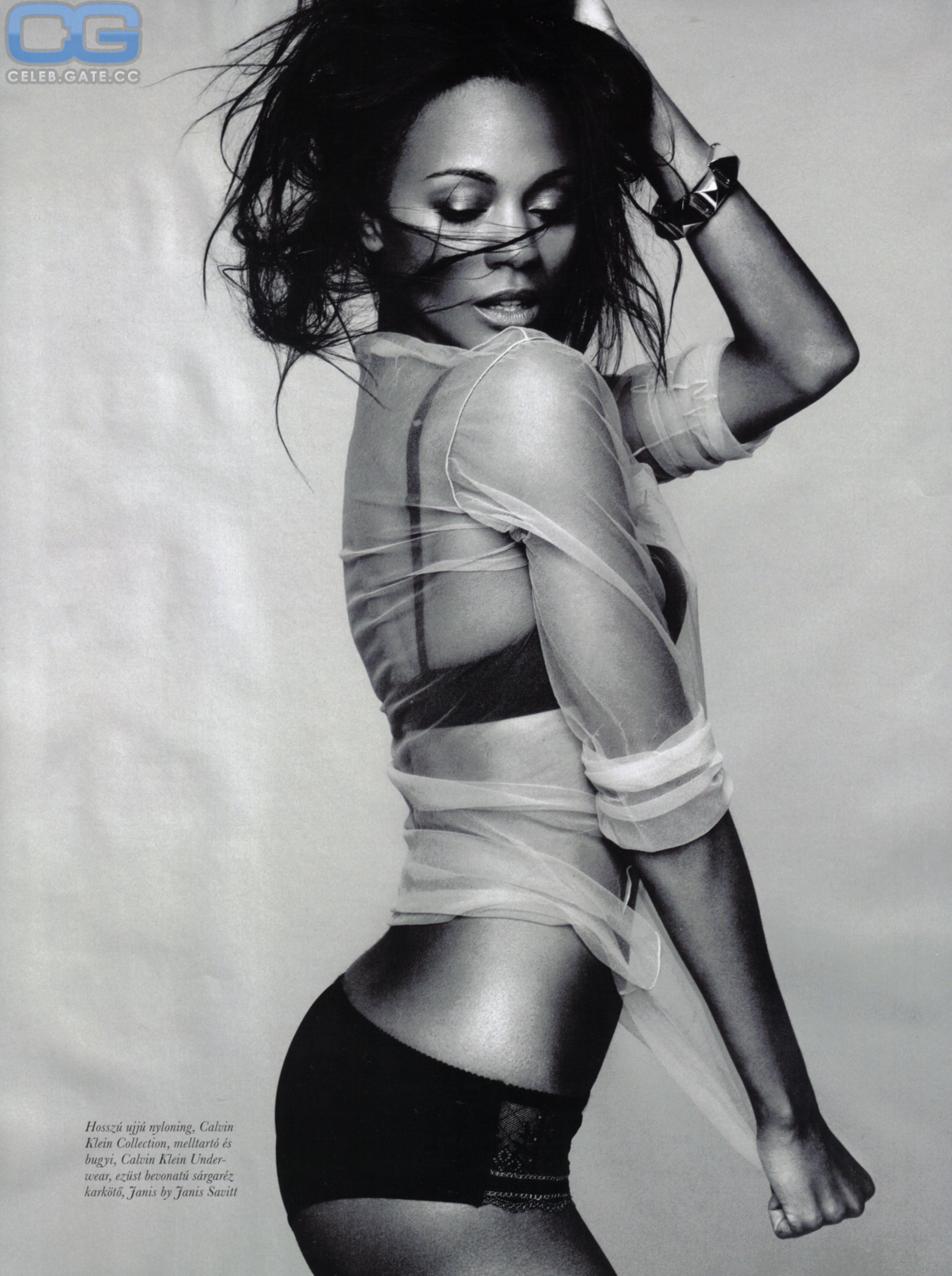 Nackt  Zoe Saldana Charlize Theron