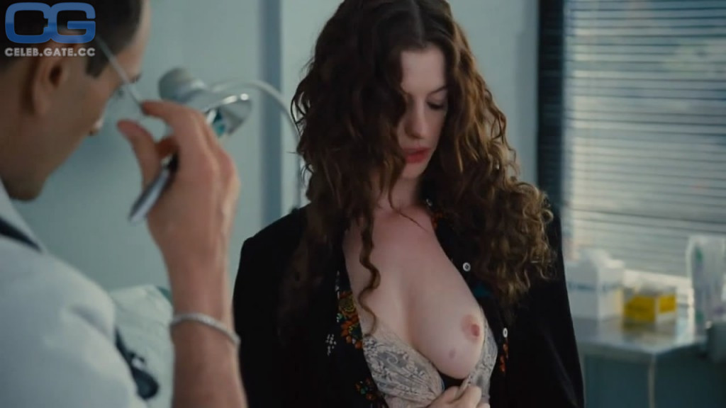 anne hathaway nude naked topless