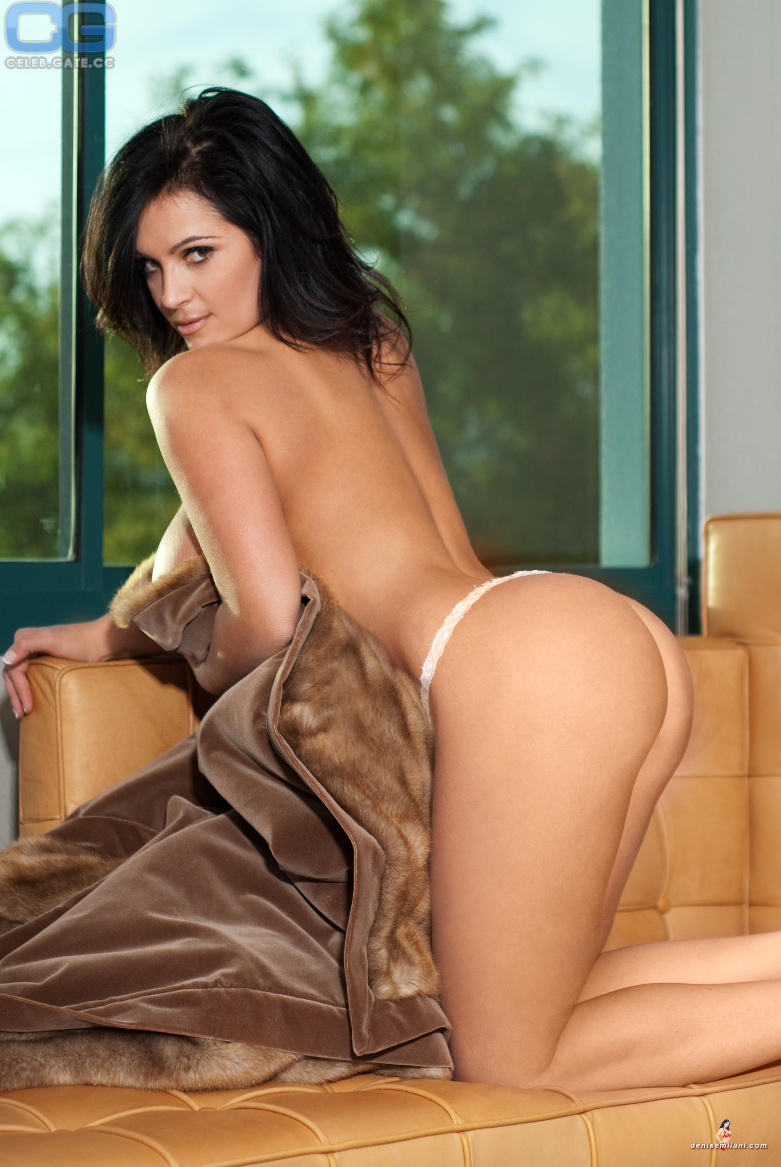 Bikini Naked Photos Of Denise Milani Png